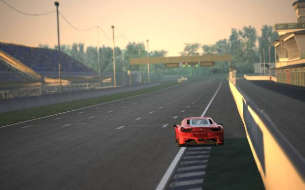The famous Newbury circuit, the first to feature in a Kunos based sim, has been ported by modders into Assetto Corsa