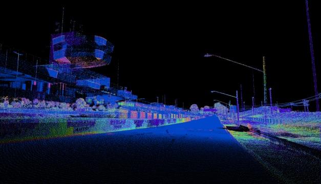 Bathurst laser scan