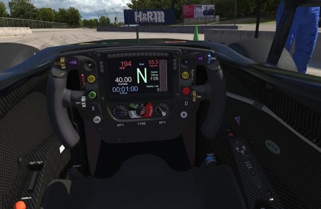 MP4-30 Cockpit